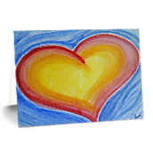 Heart-notecards